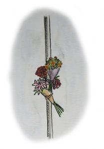 flowers on a lamppost 24 03 16